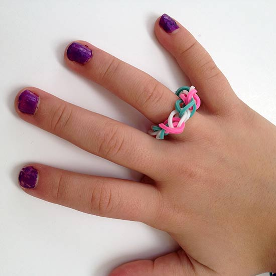 Candy Woven Loom Ring