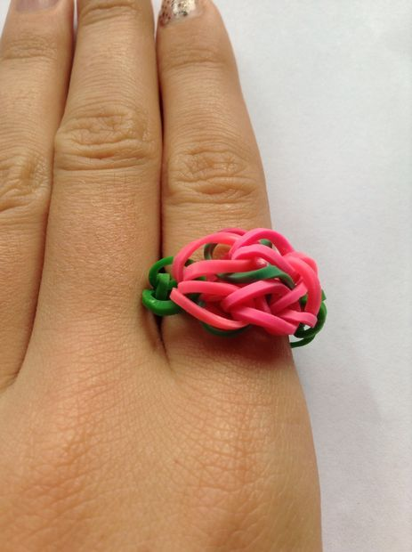 Charming Rose Loom Ring