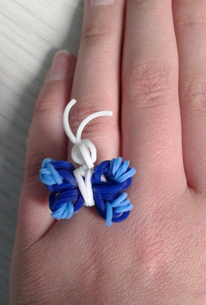 Cute Butterfly Loom Ring
