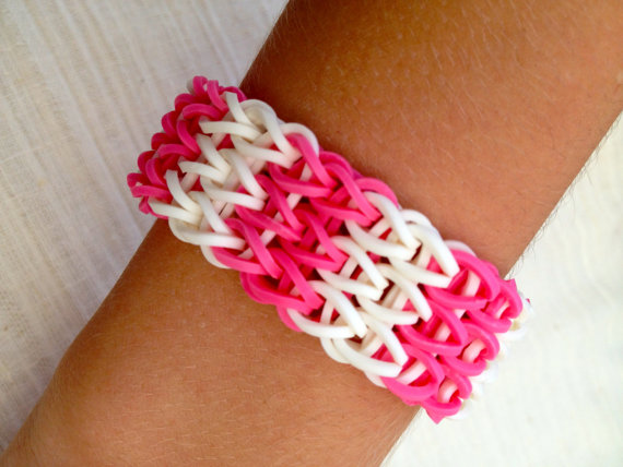 Cute Candy Fishtail Loom Bracelet
