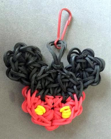 Cute Mickey Mouse Loom Charm