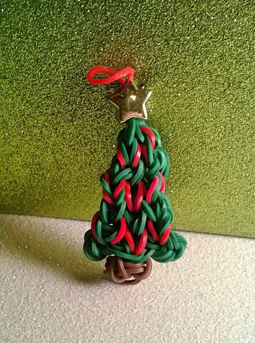 Festive Christmas Tree Charm