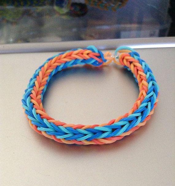 Funky Fishtail Loom Bracelet