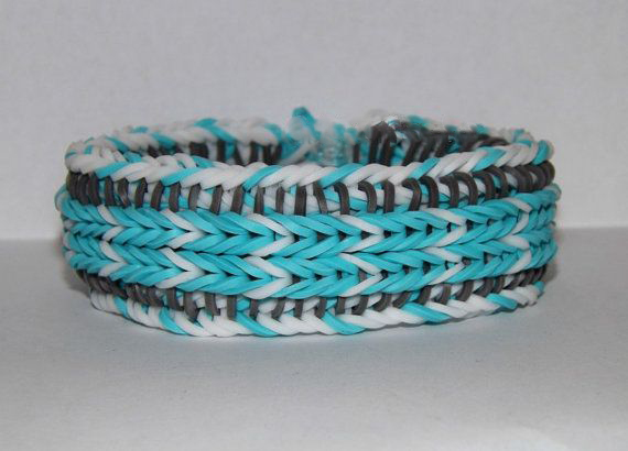 Funky Pattern Loom Bracelet