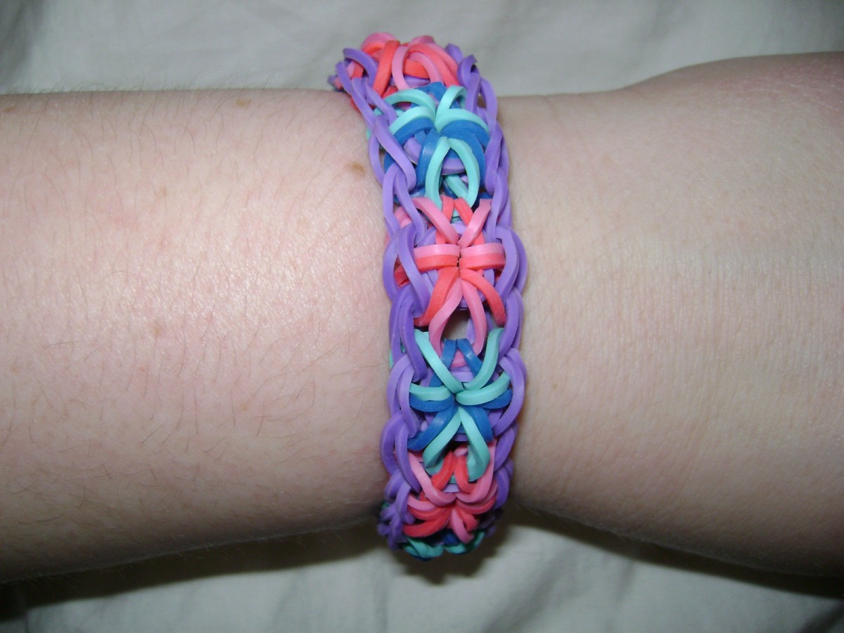 Intricate and Classic Loom Bracelet