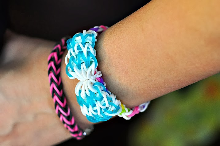 Lovely Set of 2 Loom Bracelets