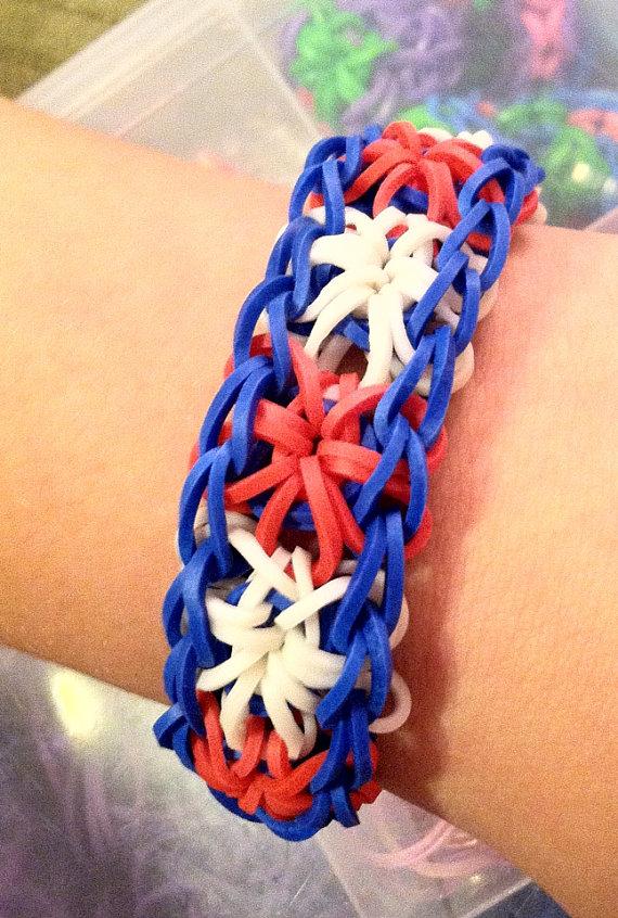 Patriotic Loom bracelet