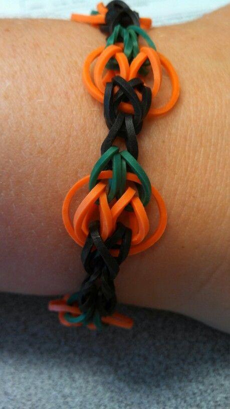 Pumpkin Loom Bracelet