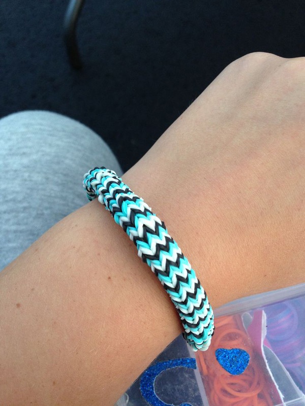 Retro Pattern Loom Bracelet