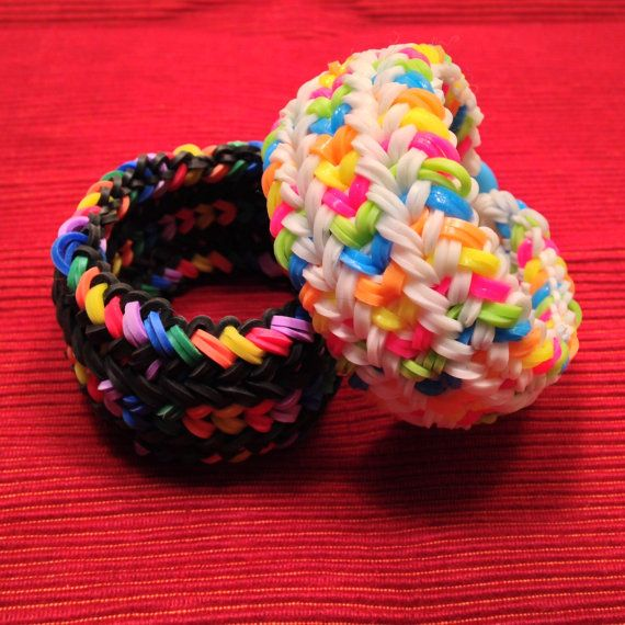 Set of 2 Candy Loom Bracelet