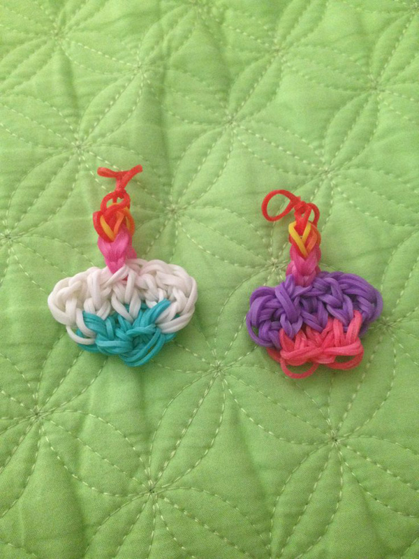 Set of 2 Cupcake Charms