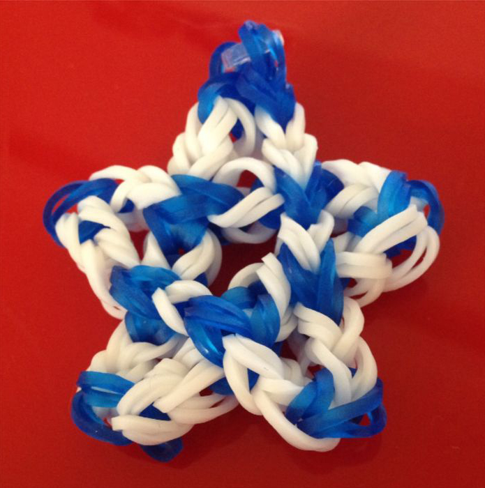 Simply Sweet Star Loom Charm
