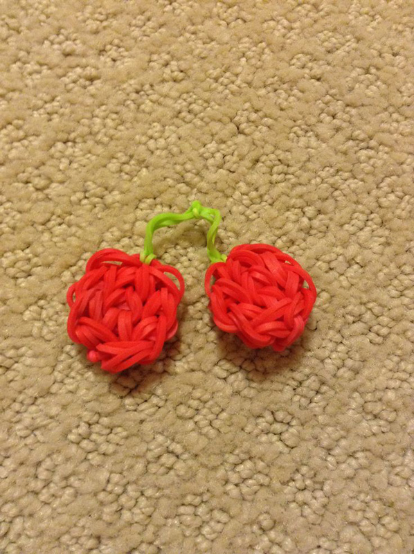 Sweet Cherry Loom Charm