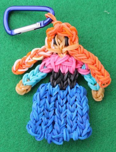 Sweet Rapunzel Loom Charm