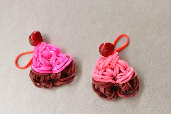 Sweetest Cupcake Loom Charms
