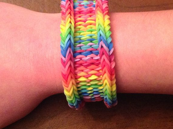 Unique and Intricate Loom Bracelet