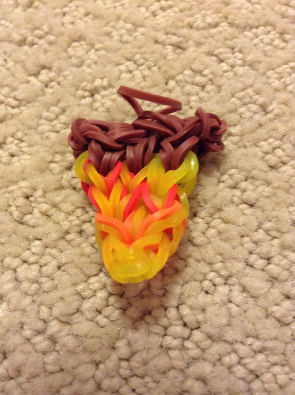 Yummy Pizza Loom Charm