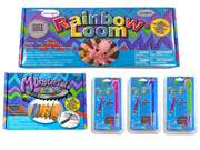 Rainbow Loom Starter Kit with Monster Tail Travel Kit and 3 Metal Hook