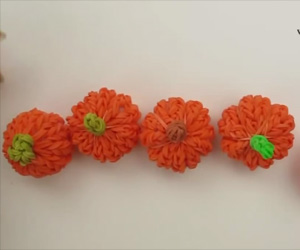 3D Mini Pumpkin Charm Tutorial