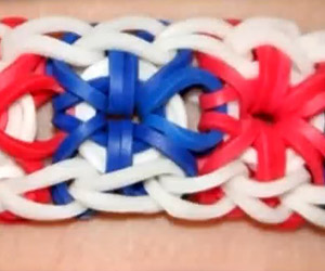Advanced Startburst Pattern Loom Bracelet Tutorial