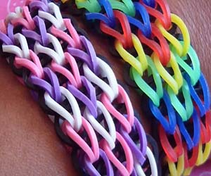 Awesome Triple Single Loom Bracelet Tutorial