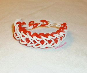 How to Make Heart Loom Bracelet