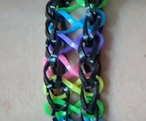 Infinity Rainbow Loom Design Tutorial