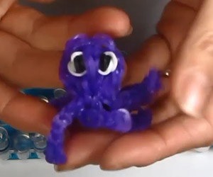 Octopus Theme Loom Charm Tutorial