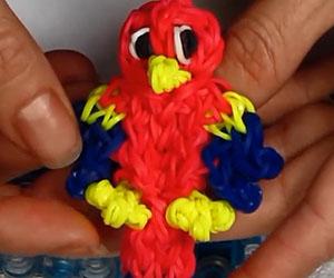 Parrot Charm Loom Tutorial