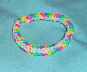 Sunrise Loom Bracelet Tutorial