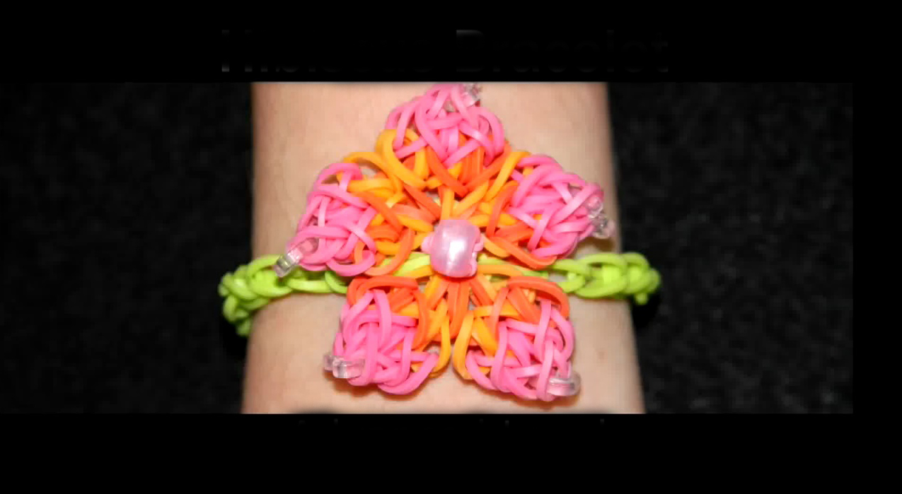 Advanced Hibiscus Loom Bracelet Tutorial