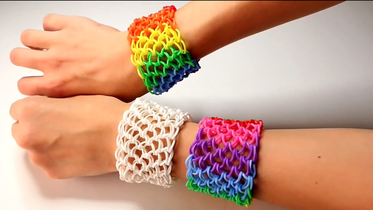 Awesome Dragon Scale Loom Band Ttutorial
