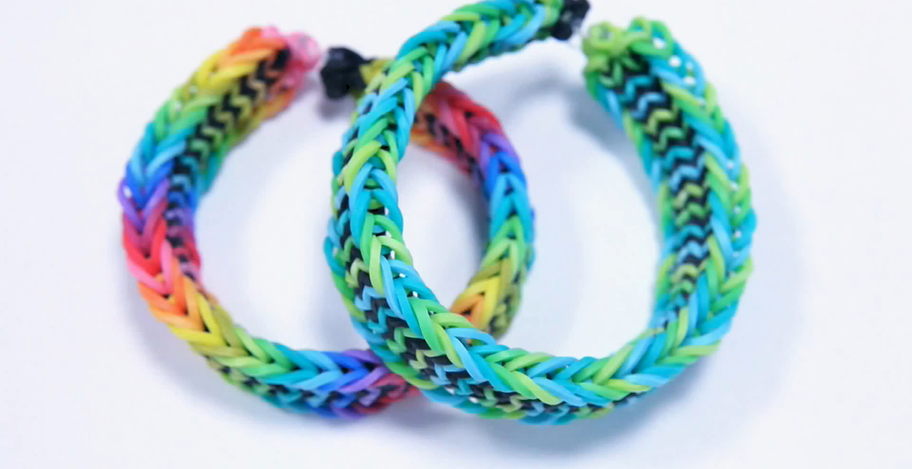 Advanced Fishtail Design Loom Bracelet Tutorial