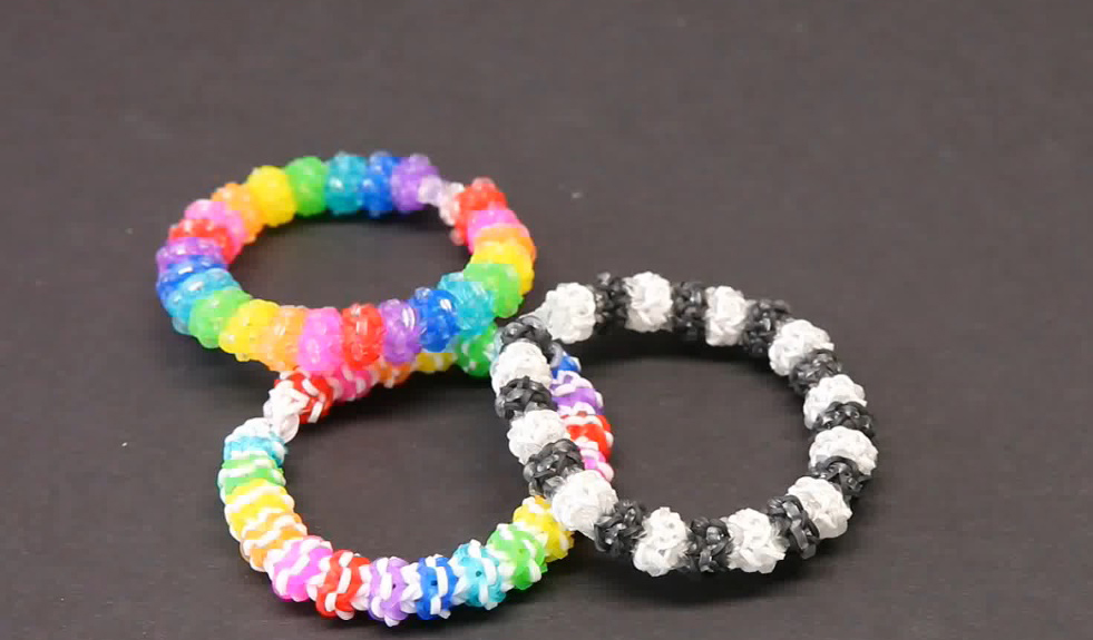 Advanced Gumdrop Design Loom Bracelet Tutorial