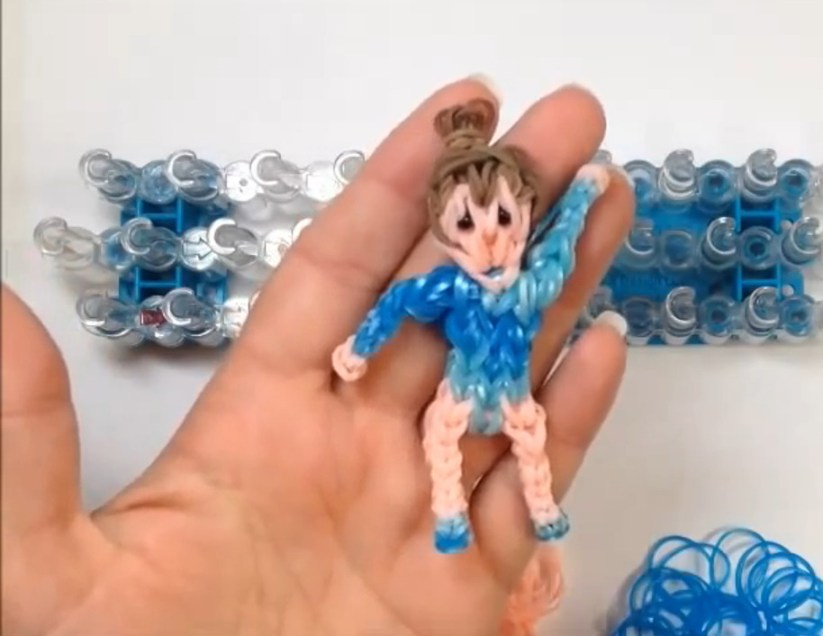 Advanced Gymnast Charms Loom Tutorial